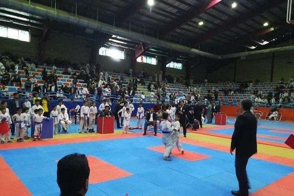 مسابقات کاراته کشوری به مناسبت قیام ۲۹ بهمن مردم تبریز برگزار شد