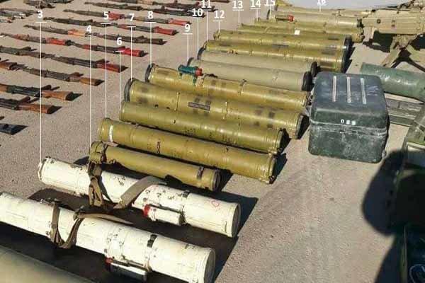 کشف موشک های آمریکایی «تاو» در جنوب سوریه