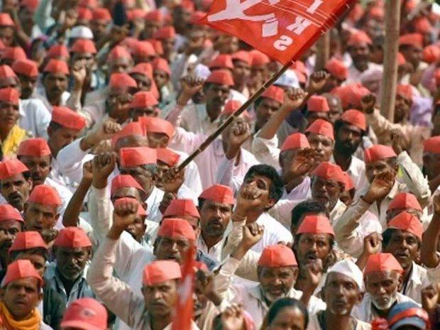 ہندوستان میں ہزاروں کسانوں کا مودی کے خلاف مظاہرہ