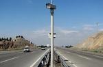 نصب ۳۰ دستگاه دوربین ثبت تخلف در محورهای استان کرمانشاه