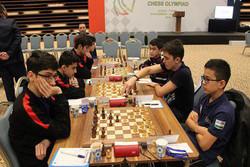 شکست شطرنجبازان ایران در دور پایانی المپیاد جهانی زیر ۱۶ سال