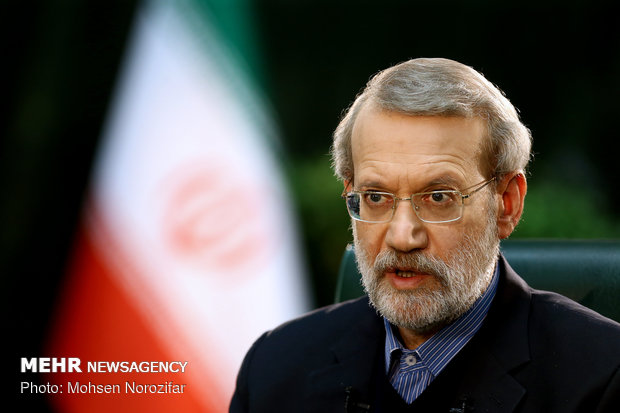 Tanker attacks in Sea of Oman go with US sanctions: Larijani