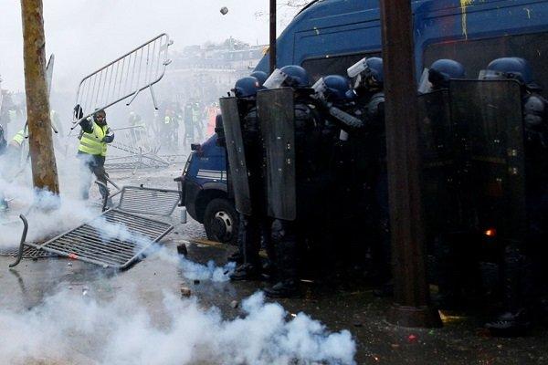 تظاهرات در فرانسه