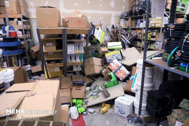 زلزله 7 ریشتری در آمریکا