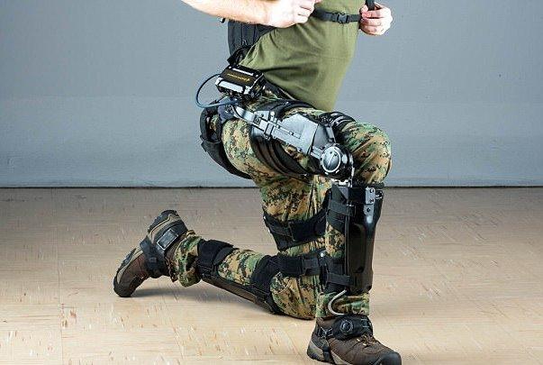 اگزواسکلتون جدید به سربازان قدرت خارق العاده می دهد