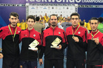 Iran crowned at World Military Taekwondo C'ships