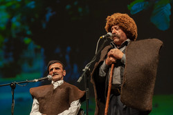 اجرای شادیانه هایی از شمال ایران/ وقتی نوازنده سازش را گم کرد