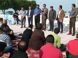 مراسم ویژه روز جهانی معلولان در گناوه برگزار شد