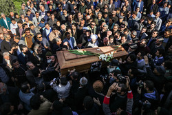 مرحوم زروئی نصر آباد کی تشییع جنازہ