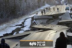 زلزله ۷ ریشتری در آلاسکا