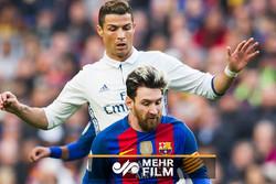 مقایسه سرعت سه ستاره فوتبال جهان