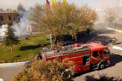 رزمایش مقابله با حملات تروریستی در صدا و سیمای قزوین برگزار شد