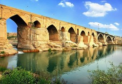 Restoration work commences on Dezful bridge