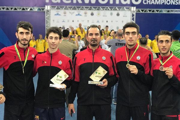 İran Ordusu Tekvando Takımı dünya şampiyonu oldu