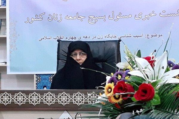 هویت زن با پیروزی انقلاب اسلامی احیاء شد/فعالیت ۳۰۰۰ مهد قرآنی