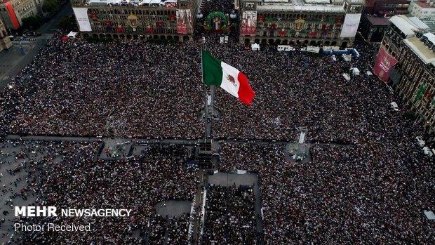 مراسم تحلیف رئیس جمهوری مکزیک