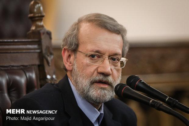Larijani holds presser