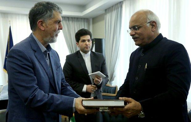 Iran, India cultural execs meet in Tehran