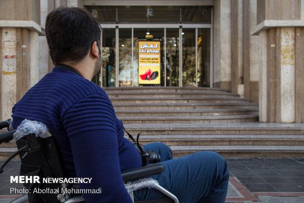 معلولیت یک روزه خبرنگاران یزدی
