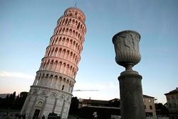 برج پیزا صاف تر شده است!