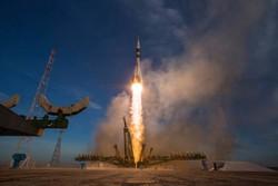 تصاویر اعزام ۳فضانورد به ایستگاه فضایی بین المللی