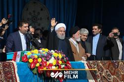 فلم/ ایرانی صدر حسن روحانی کی امریکہ کو دھمکی
