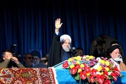 صدر روحانی کا دورہ سمنان