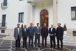Iranian Parl. delegation arrives in Rome for bilateral talks
