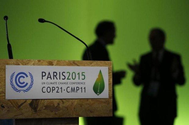توپ توافق پاریس در زمین سازمان محیط زیست