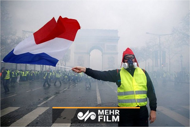 """تأزم الأوضاع في العاصمة الفرنسية """"باريس"""""""
