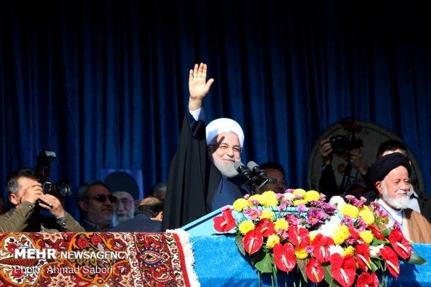 """Ruhani'den ABD'ye """"petrol"""" uyarısı"""