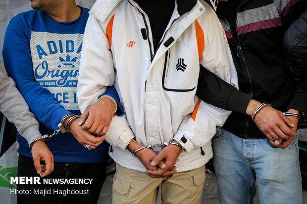 دستگیری ۶۱۳ سارق و خردهفروش موادمخدر در پایتخت