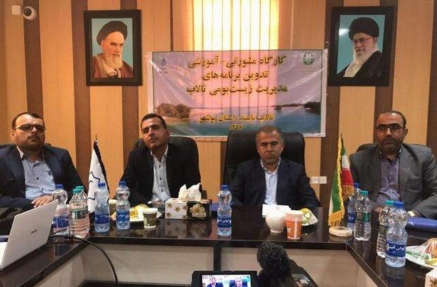 حفظ و احیای تالابهای استان بوشهر با جدیت دنبال میشود