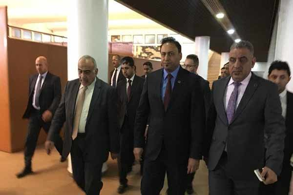 عادل عبدالمهدی صحن پارلمان عراق را ترک کرد