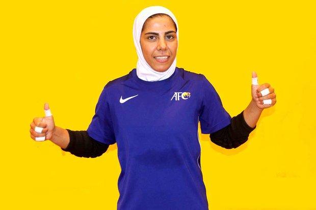 Iran's Tavasoli nominated for World's Best Female Goalkeeper