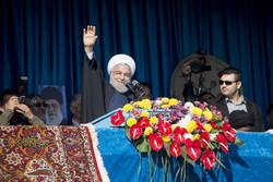 الرئيس روحاني في جولة تفقدية في محافظة سمنان /صور