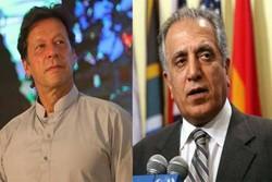 مذاکرات «واشنگتن-طالبان» محور دیدار خلیلزاد و عمرانخان