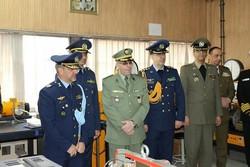 وابستگان نظامی کشورهای خارجی از دانشگاه شهید ستاری بازدید کردند