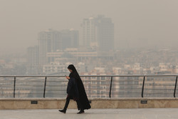 صبح آلوده پایتخت در روز آغاز به کار مدارس