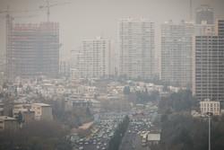 کیفیت هوای تهران اعلام شد/افزایش غلظت ذرات معلق و آلاینده ازن