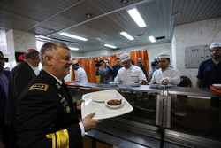 سفر فرمانده نیروی دریایی ارتش جمهوری اسلامی ایران به گرگان