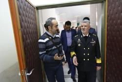 ایرانی بحریہ کے سربراہ کا دورہ گرگان