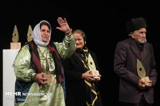 Closing ceremony of 5th Regional & Ritual Music Festival of Iran