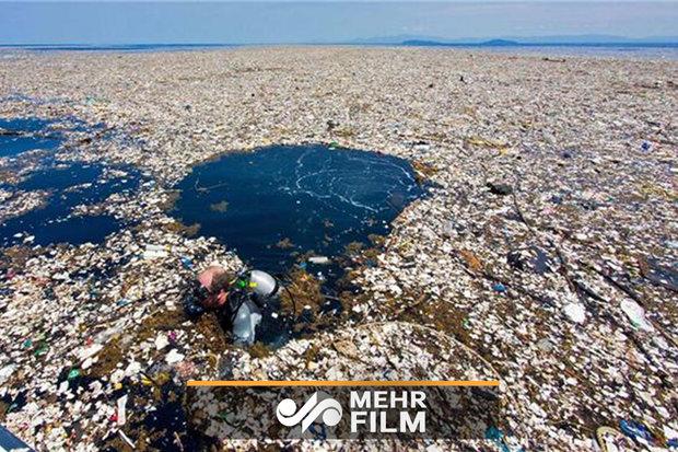 نابودی اقیانوسها توسط زبالههای پلاستیکی