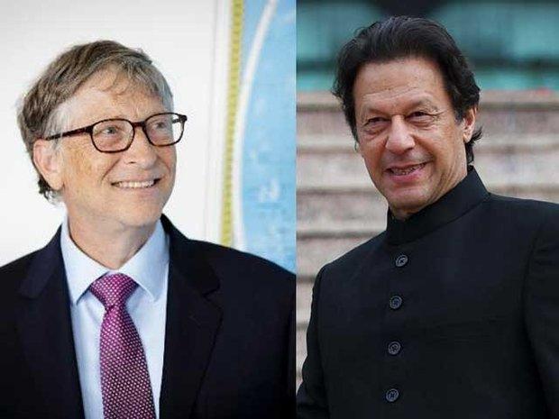 عمران خان اور بل گیٹس کے درمیان ٹیلی فونک رابطہ