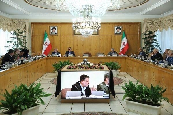الحكومة الإيرانية تعلن الحداد العام غدا الأربعاء بمناسبة رحيل آية الله هاشمي شاهرودي