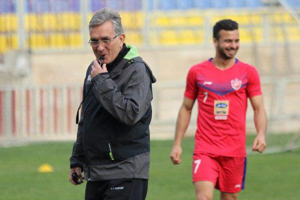 جلسه برانکو با مربی آلمانی در خصوص بازیکنان ایرانی