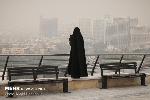 التلوث الجوي بطهران
