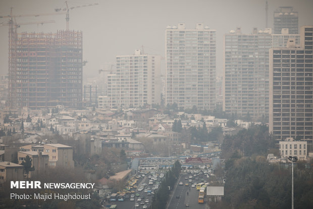 Air pollution in Tehran