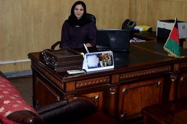 یک زن معاون وزیر کشور افغانستان شد